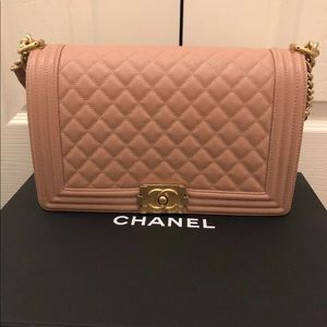 Authentic Chanel New Medium Boy Classic Bag
